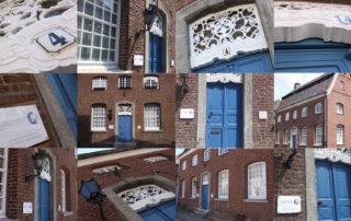 Collage, Foto Mosaik, Kacheln, Haus Haal, Privatpraxis für Zahnheilkunde, Zahnärztin, Zahnarzt, Dentist, Dr. Anke Hambach, Issum, Niederrhein